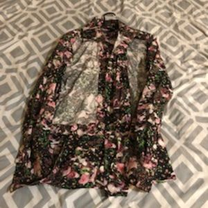 Givenchy Floral Button up Shirt